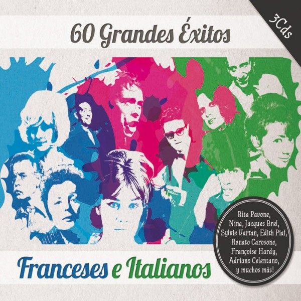 60_Éxitos_Franceses_e_Italianos